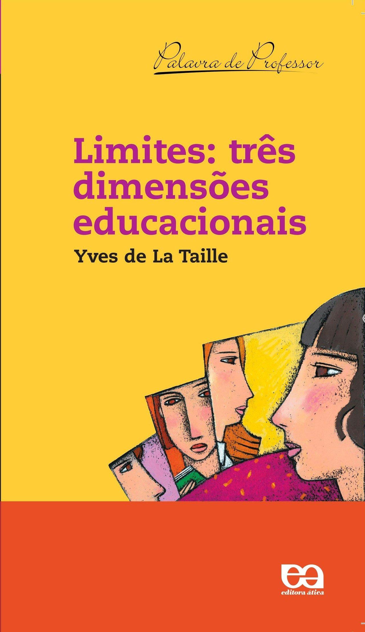 Capa do livro Três Dimensões Educacionais, de Yves de La Taille