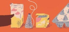 Ensino Médio: Caixas de ovos para incluir todos na aula de  Matemática