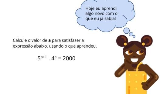 Usando álgebra e propriedades de potência para resolver expressões.