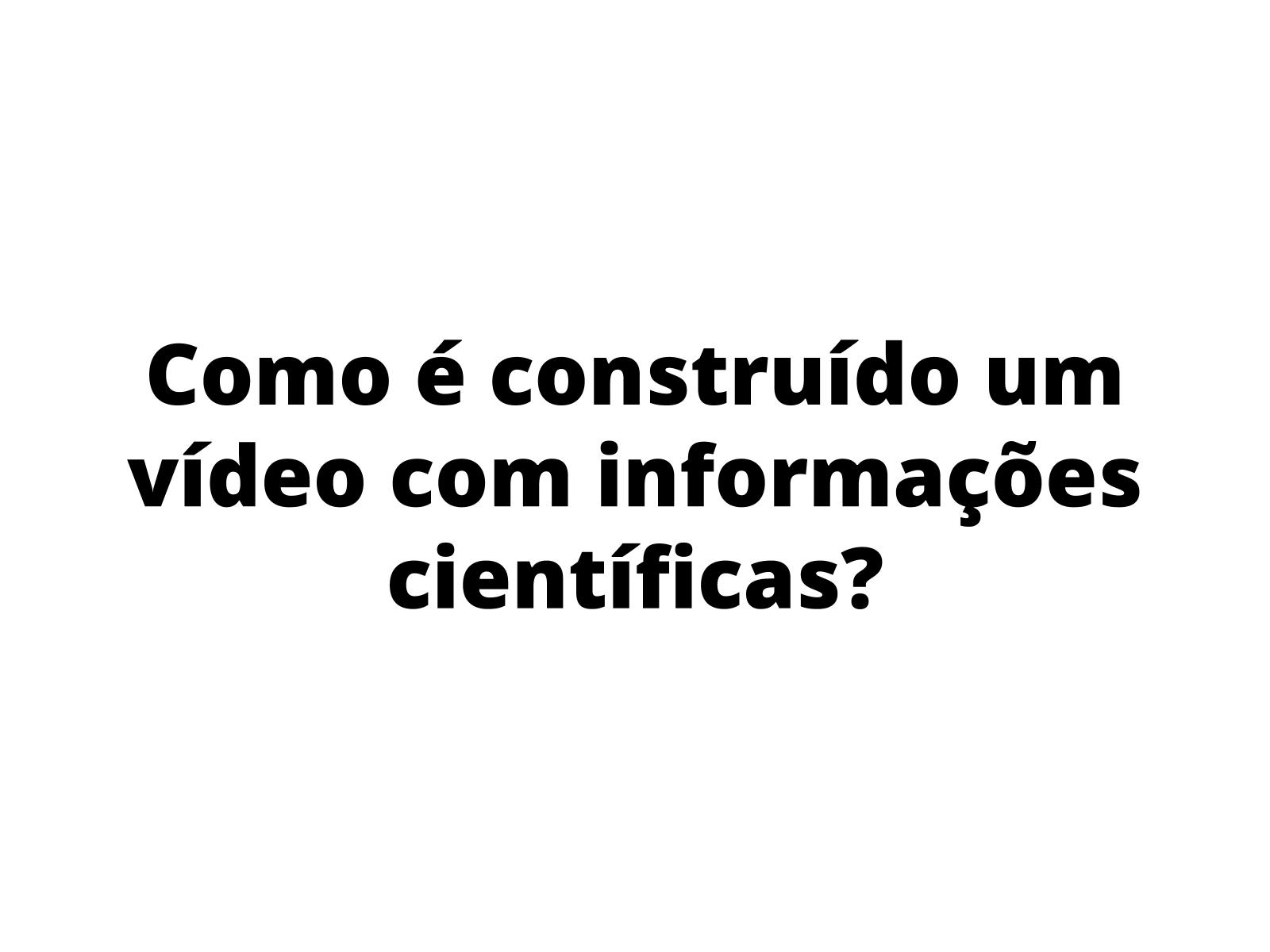 Características linguísticas da  produção de um vídeo para os canais de youtubers