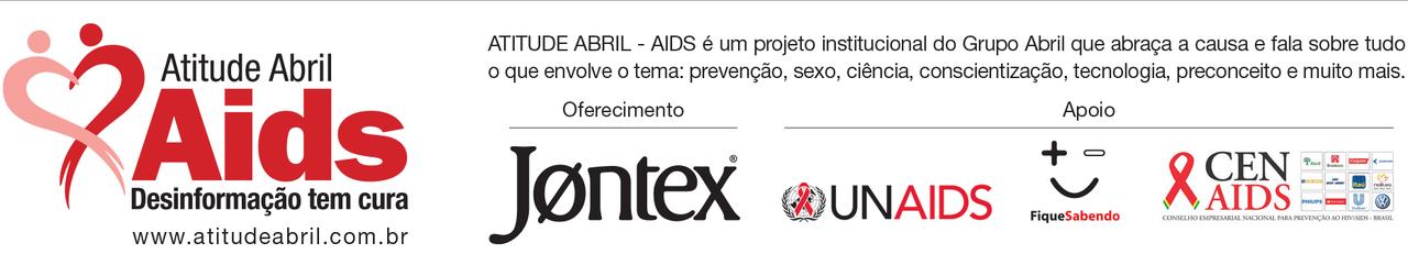 Campanha Atitude Abril Aids - Desinformação Tem Cura!