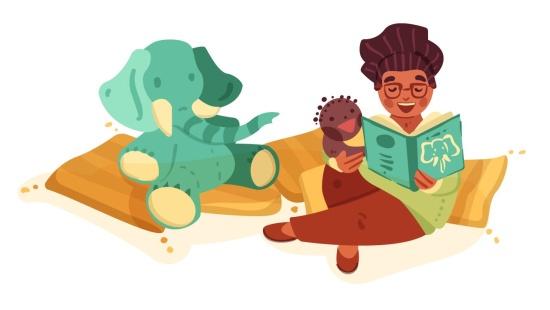 Despertar o prazer dos bebês pelas histórias lidas