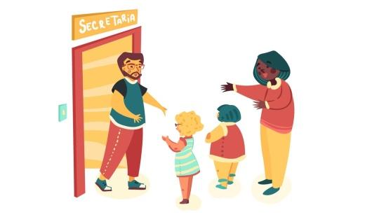 Preparar o primeiro dia das crianças na creche