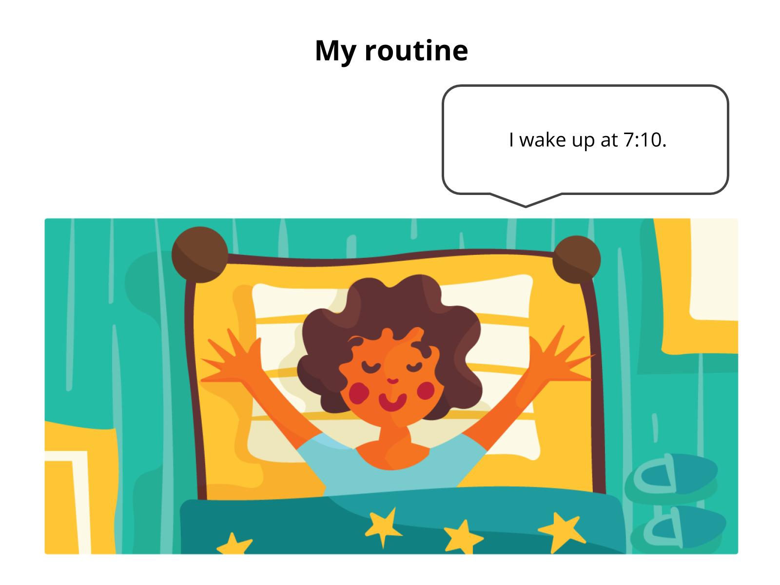 Falar sobre atividades diárias.