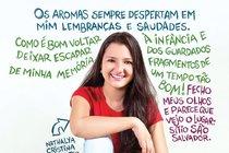 Nathalya Cristina Trevisanutto, 13 anos, autora dos textos utilizados nesta reportagem. Foto: Rafael Silva