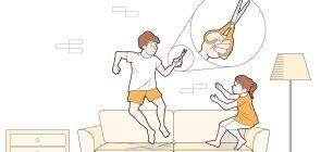 Como evitar quedas e ferimentos com objetos cortantes