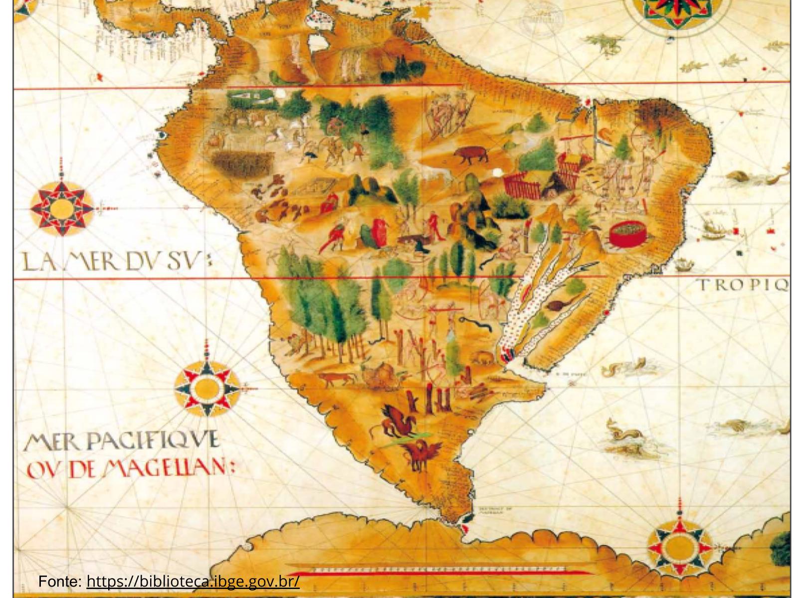 Leitura e interpretação de mapas cartográficos