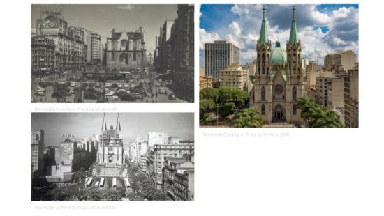 Transformações de paisagens nas cidades