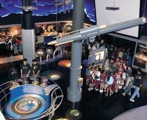 A nave-escola do planetário carioca: várias atrações levam Foto: Gilvan Barreto