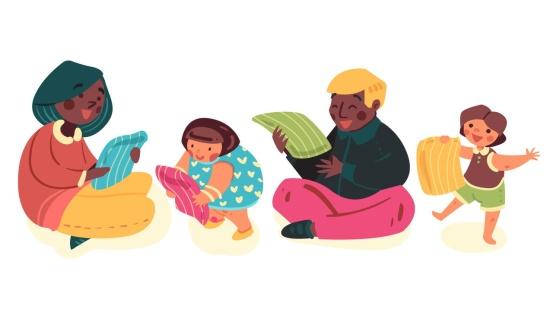 Ampliação de repertório: os jogos das famílias