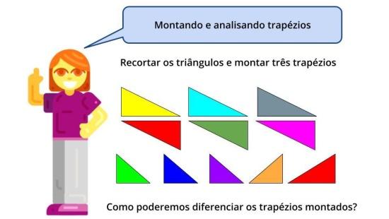 Desenvolvendo os conceitos sobre trapézios