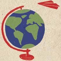 Leve a classe para uma volta ao mundo em inglês. Ilustração: Anna Cunha