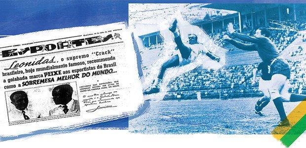 O jogador Leônidas foi o primeiro a usar sua imagem para vender produtos. Conhecido por seus gols de bicicleta, o atleta foi celebrado pelo governo Vargas. Bruno Algarve