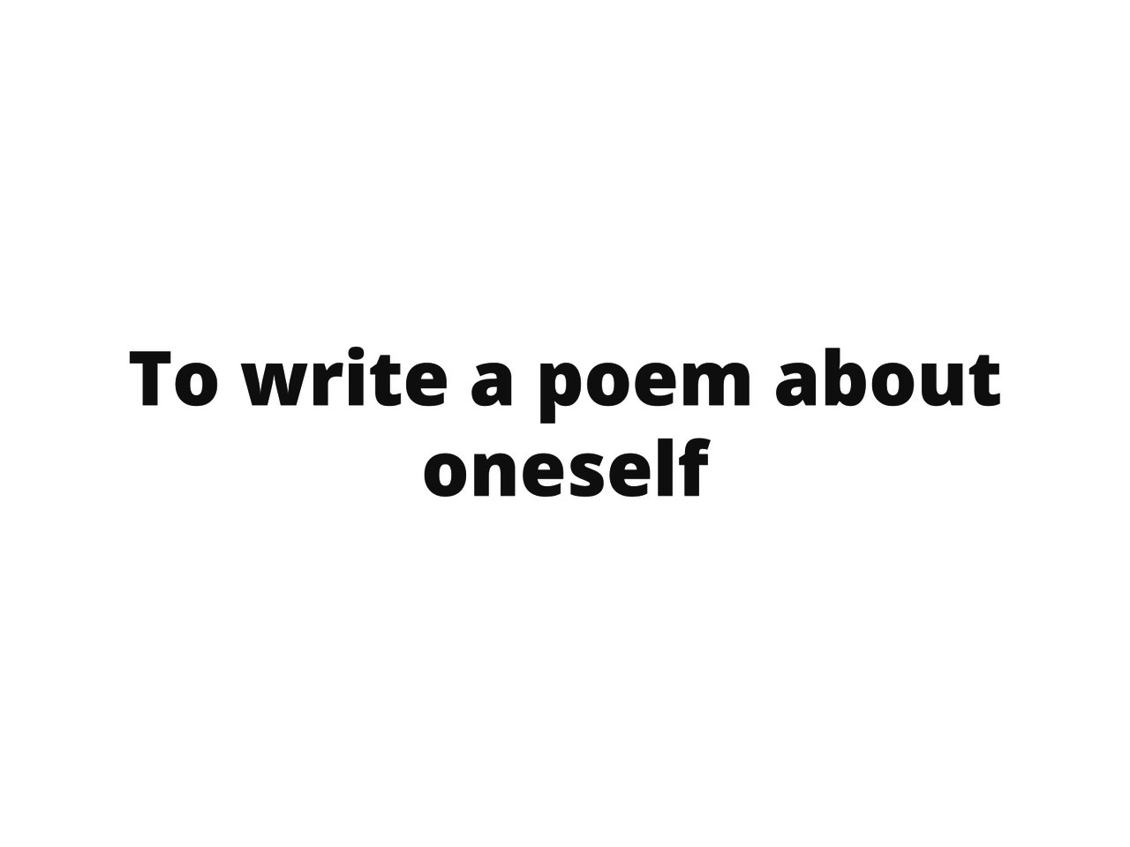 Poema biográfico