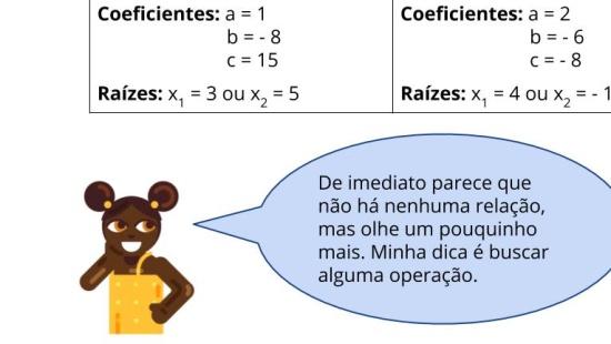 Resolução de equações quadráticas por cálculo mental