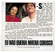 Reportagem publicada na revista Realidade em 1968, sobre o reencontro de Dadá com o coronel Rufino: a história passada a limpo