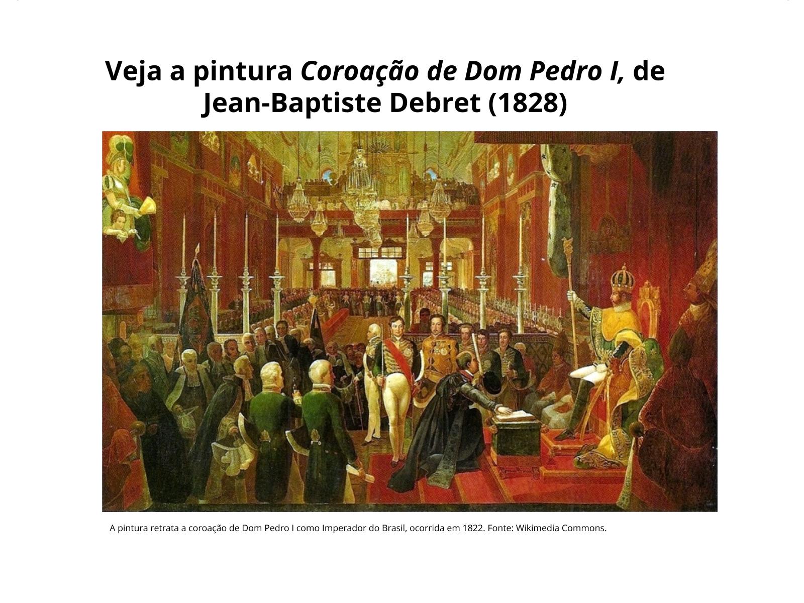 Projetos políticos em conflito no Brasil pós-Independência