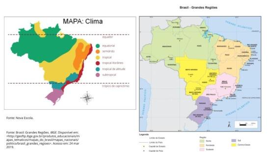 MAPAS: Diferenças e semelhanças