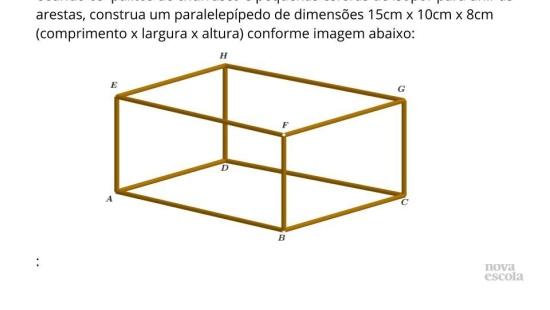 Determinando o comprimento de diagonais no espaço (Cubo e Paralelepípedo)