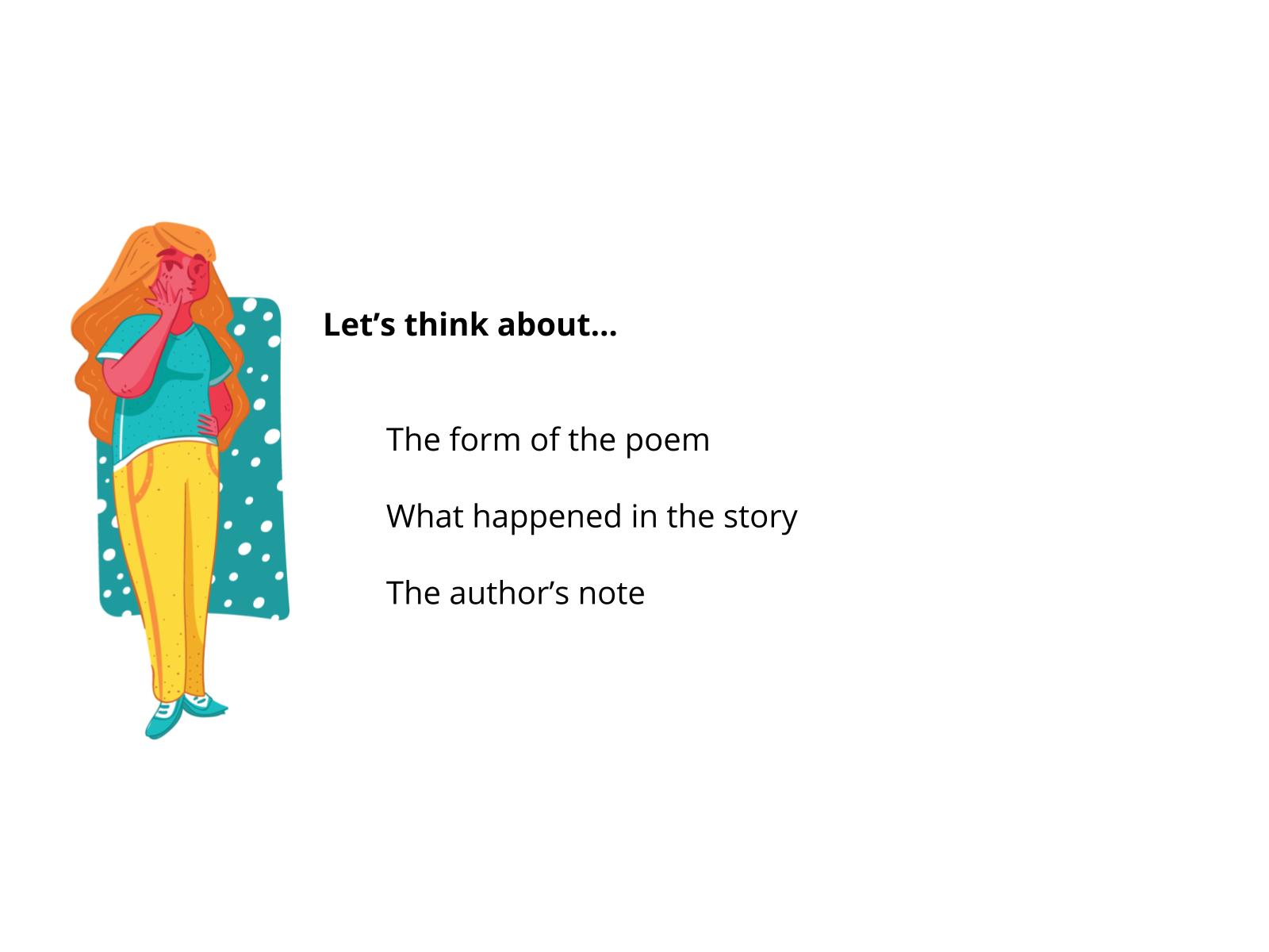 Leitura e comparação de fábula e poema II