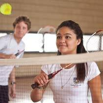 Badminton. Foto: Fernanda Preto