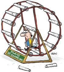 Sem planos de carreira estruturados, não há perspectivas de crescimento profissional e a atividade docente se torna pouco atrativa. Ilustração: Jean Galvão