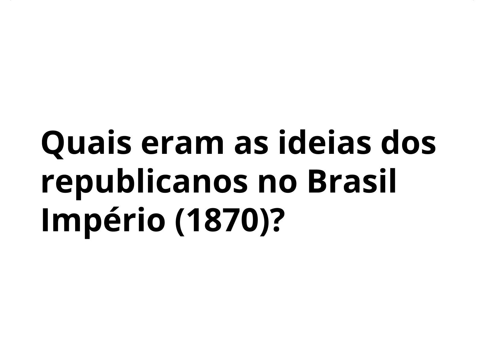 Republicanos no Brasil Império