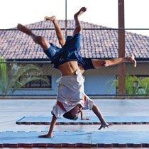 Manobras acrobáticas. Foto: Pedro Silveira