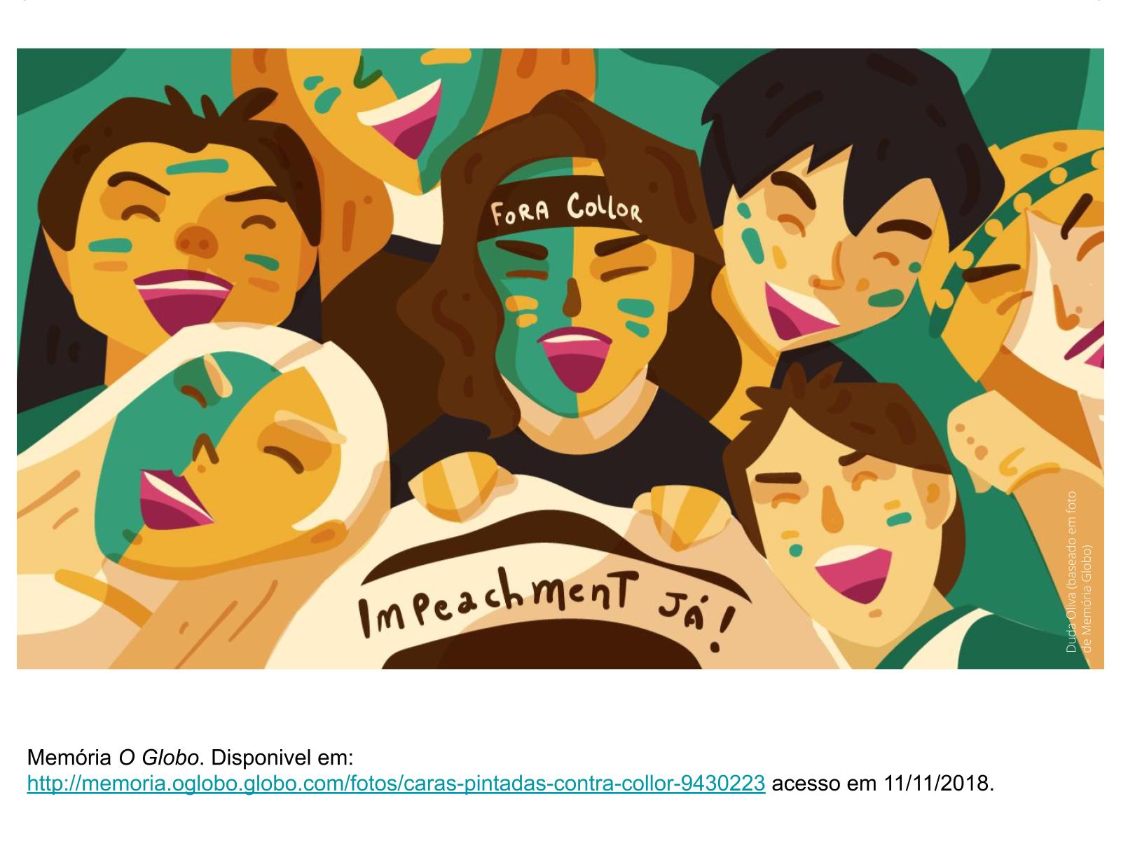 Os caras-pintadas e a participação política da juventude brasileira