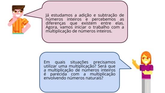 Multiplicação de Números Inteiros