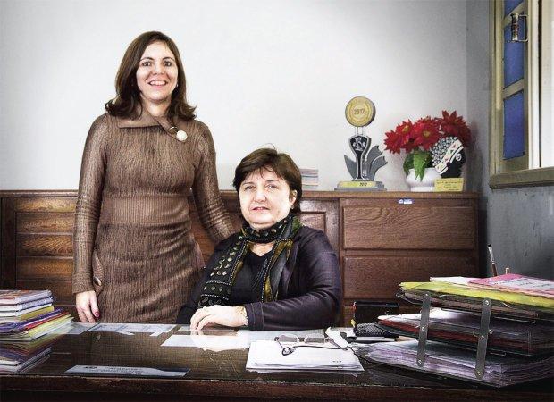 Penha e Justina compartilham os problemas administrativos e também os pedagógicos. Foto: Diana Abreu