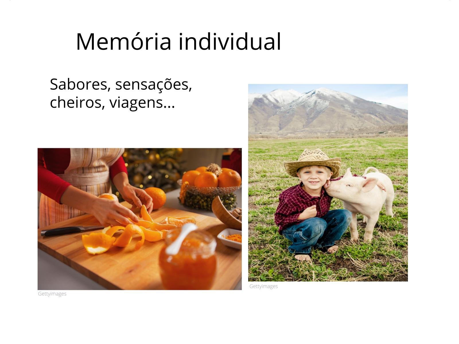 Construindo memórias