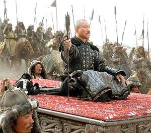 Cena do filme O guerreiro Gengis Kahn. Foto: divulgação