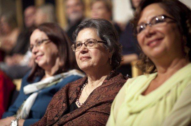 Sofia Lerche Vieira, Vera Placco e Regina Scarpa, coordenadora pedagógica da Fundação Victor Civita e uma das principais responsáveis pelo Prêmio