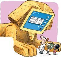 Tecnologia sozinha não aprimora o aprendizado. Ilustração: Jean Galvão