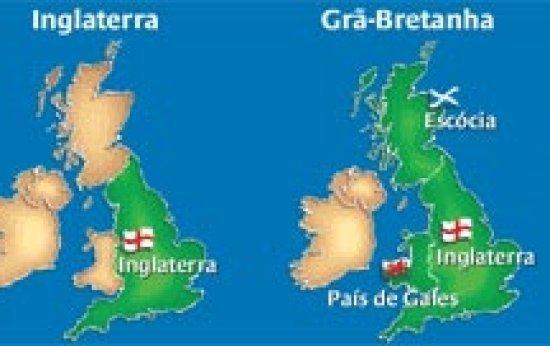 Qual é a diferença entre Inglaterra, Grã-Bretanha e Reino Unido?