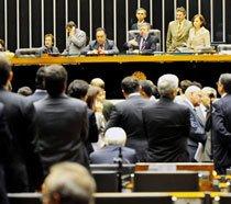 Votação da Lei de Diretrizes Orçamentárias (LDO) para 2010, no Congresso Nacional, em Brasília. Foto: José Cruz/ABr