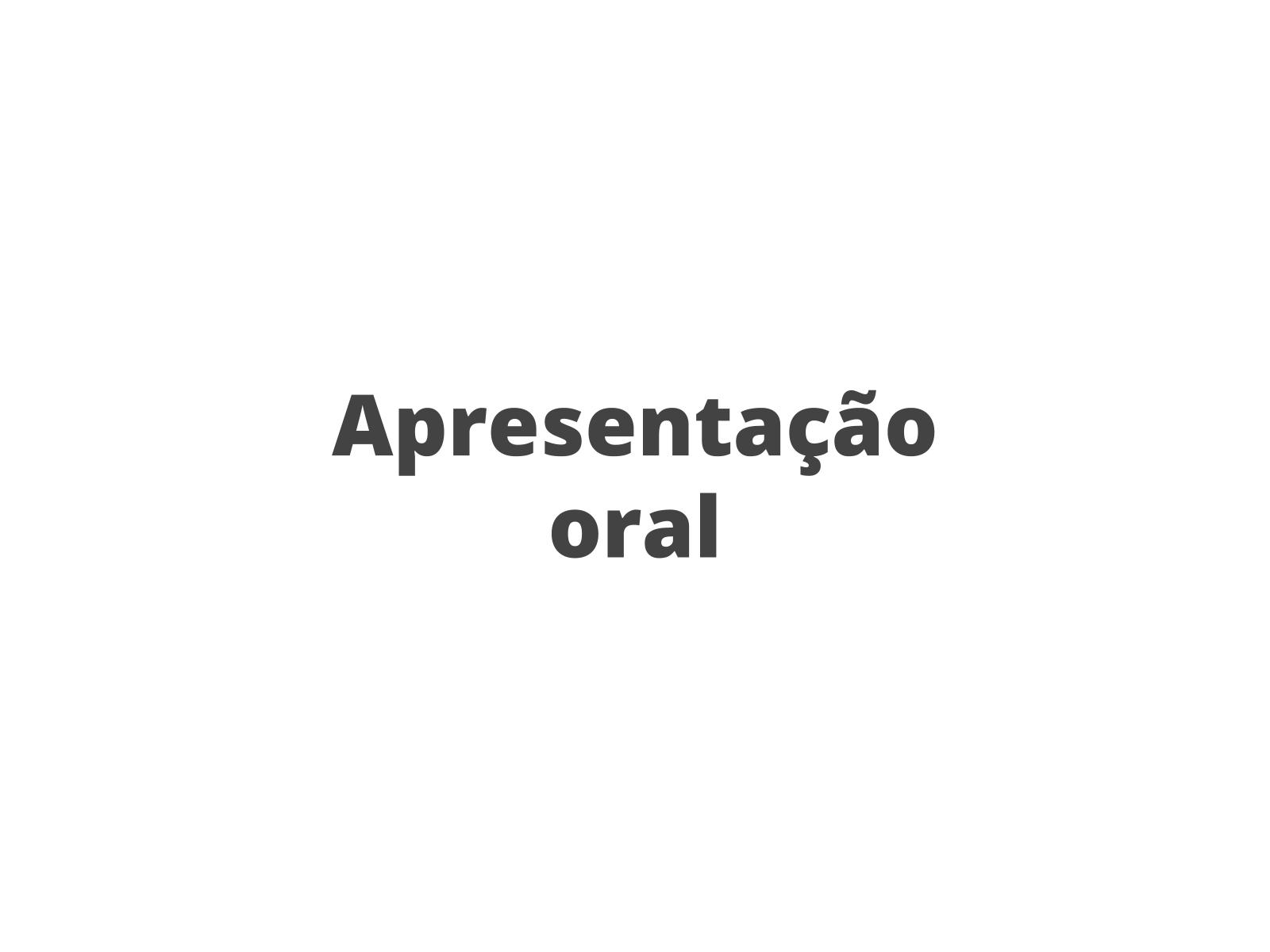 Produção oral: apresentação e avaliação