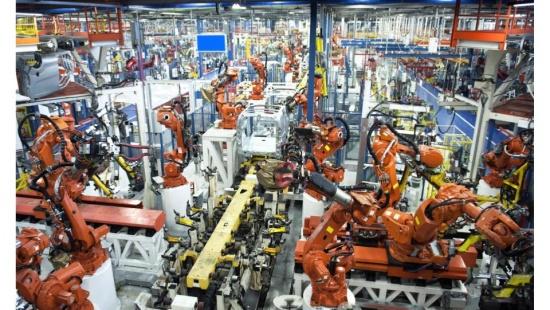 A modernização da indústria ao longo do tempo