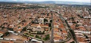 Cidade de Juazeiro do Norte, no Ceará