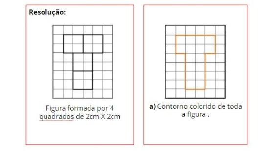 Calculando perímetro e área de retângulos