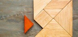 Tangram, jogo de peças