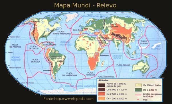 Mapa do mundo - relevo. Fonte: http--www.diaadia.pr.gov.br-tvpendrive-arquivos-Image-conteudos-imagens-2geografia-4mbrrel.jpg