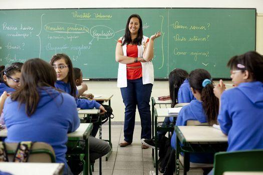 O jornal aproxima a realidade dos jovens ao estudo de Geografia. Foto: Marina Piedade
