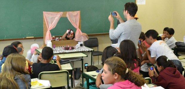 Em Palmares Paulista, professores planejam atividades com uso do celular. Foto: arquivo pessoal
