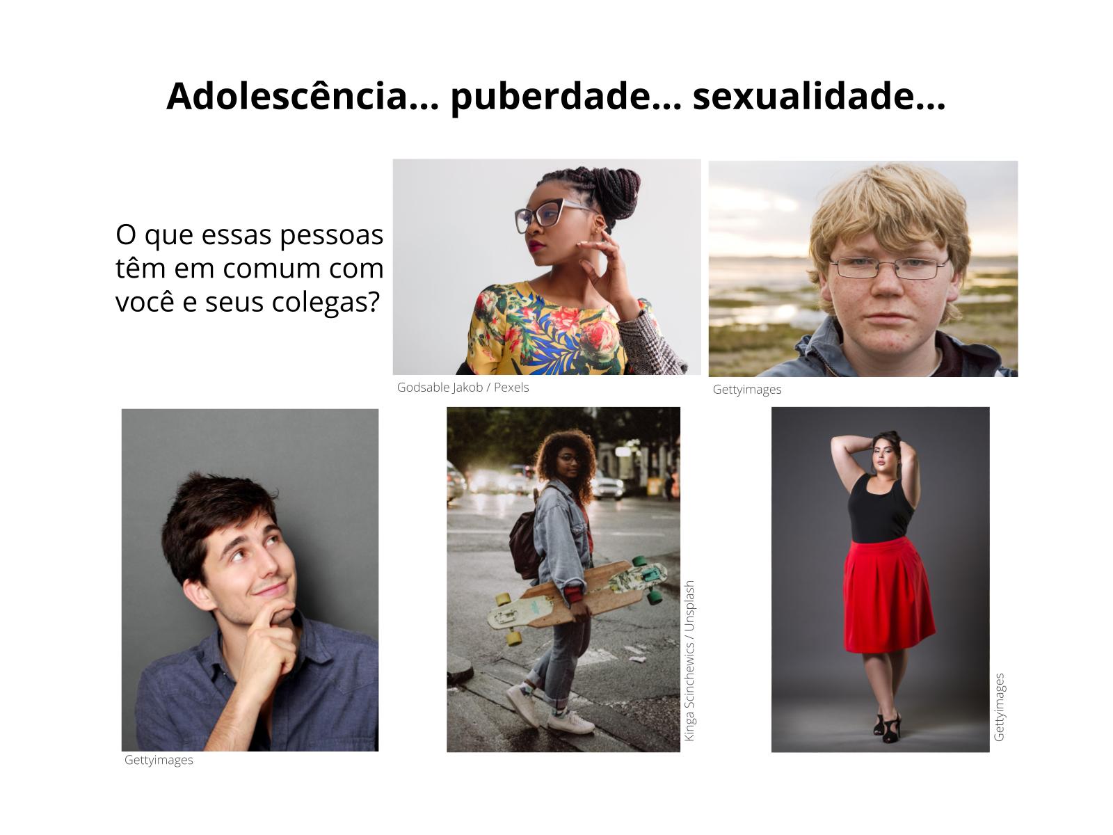 Ser adolescente: sexualidade, puberdade e adolescência