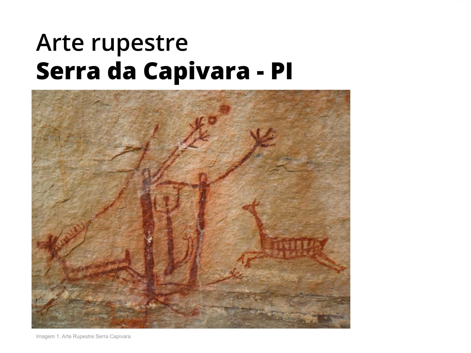 Arte rupestre e os hieróglifos egípcios