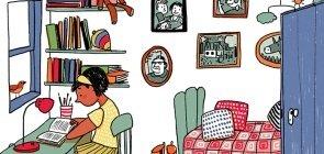 A leitura como um refúgio para os jovens na quarentena