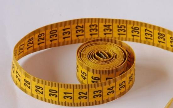 Fita métrica para compreender o sistema de numeração decimal