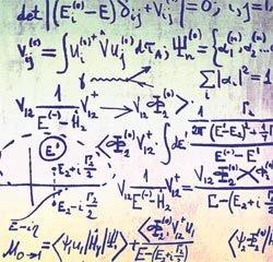 Equação da física de partículas, parte da teoria quântica: novas visões de mundo. Foto: Ria Novosti/Science Photo Library/ Stock Photos